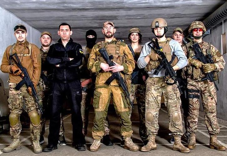 Рукопашний бій на базі підготовки спецпідрозділів Національної Поліції|Спорт