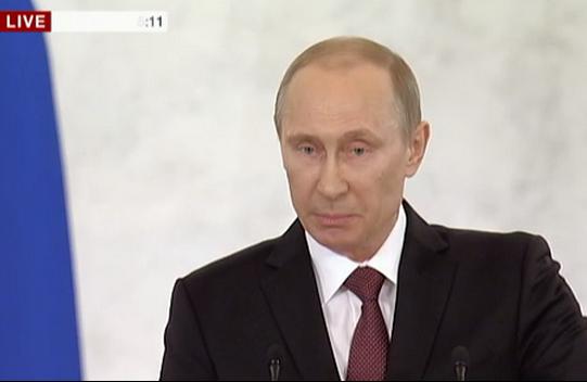 Офіційне підтвердження анексії Криму
