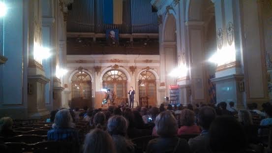 Бах, орган і травнева злива у Львові